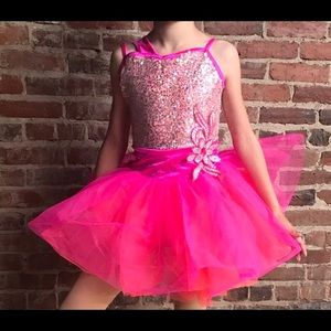 Other - Pink and orange dance costume girls size M